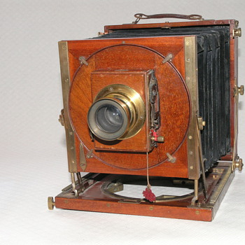 "Steward, J.H., ""Omni"" Field Camera, 1894. - Cameras"