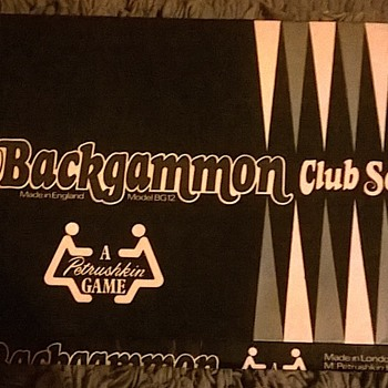 petrushkin backgammon club set  - Games