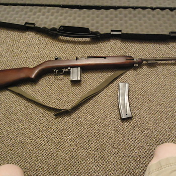 WWII US M1 Carbine - Military and Wartime