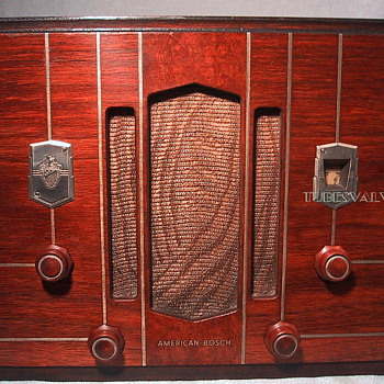 AMERICAN BOSCH 420 Tube Radio 1934