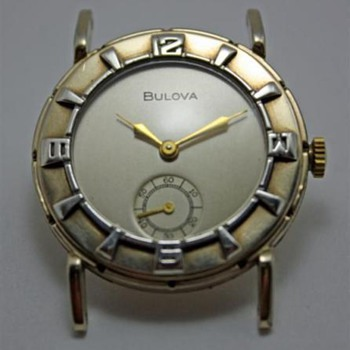 Unknown Bulova 1950's - Wristwatches