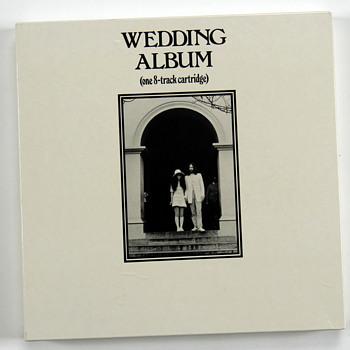 """John Lennon's owned """"Wedding Album""""-1969 - Music Memorabilia"""