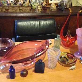 Some of my glass I've found at the dump
