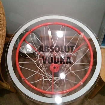 Absolut Basketball Table - Advertising