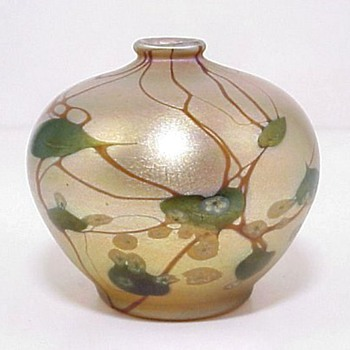 L.C.Tiffany Miniature Vase - Art Glass