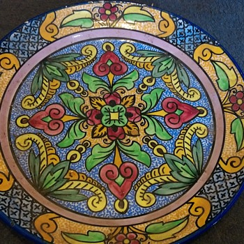 Espana charger - Art Pottery