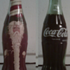 Santa Coke Cola Bottle