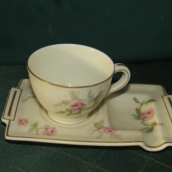 My Theodore Haviland  Limoges demitasse cup and saucer