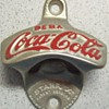 Spanish Starr Coca-Cola  Stationary Bottle Opener