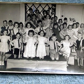 1954-birmingham-sladefield rd-school class. - Photographs
