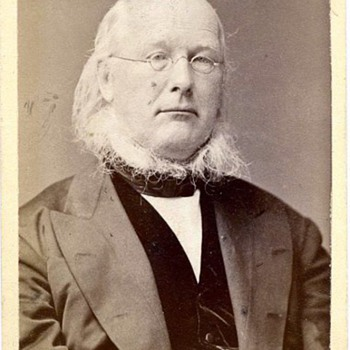 CDV of Horace Greeley c.1872 by Frank Pearsall