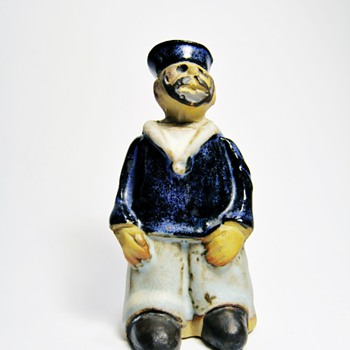 SAILOR FIGURINE  / TREMAR -UK  - Figurines