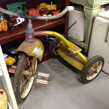 Yellow Tricycle  - Sporting Goods