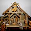 1950&#039;s Hand Carved Nativity from Italy