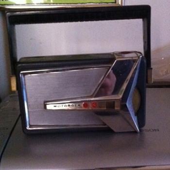 Vintage Motorola Transistor Radio
