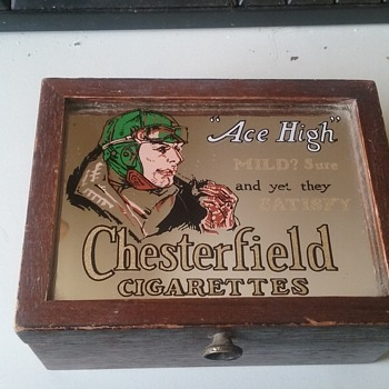 Chesterfield Cigarette Box - Tobacciana