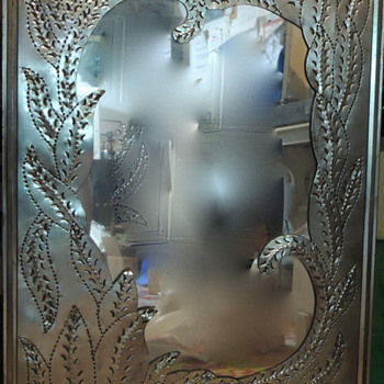 Hammered Tin Mirror - Mexican - Furniture