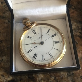 18 karat pocket watch