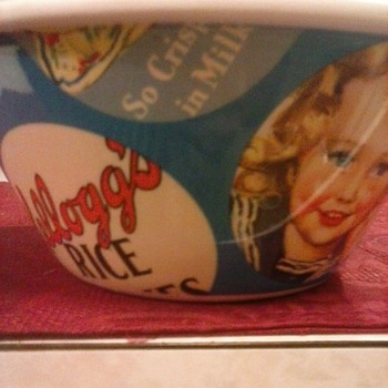 My cereal bowl!  - Advertising