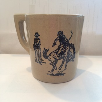 Cowboys Monmouth? Western? Pottery Mug - Kitchen