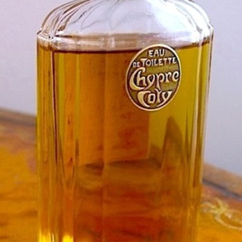 Vintage Deco Bottle of  COTY CHYPRE