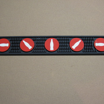 Coca-Cola Rubber Bar Mat