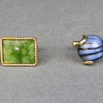 2 Pair of Vintage Cufflinks - Danté and Kreisler Craft - Accessories