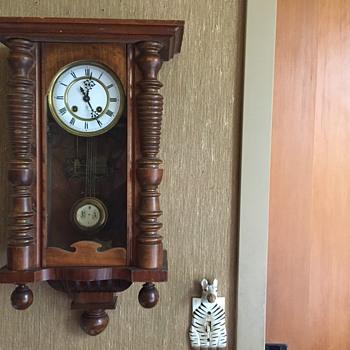 Gustav Becker regulator clock late 1800's