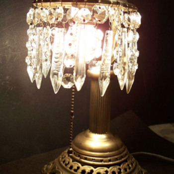 My 1920's crystal lamp project - Lamps