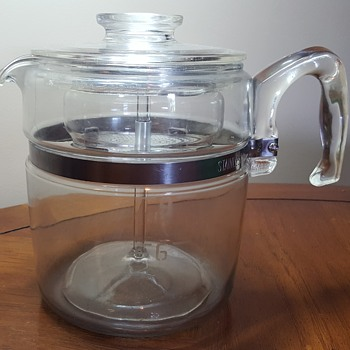 Pyrex Flameware Percolators