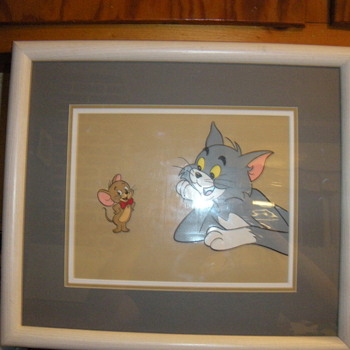 Tom &amp; Jerry Amination Cel