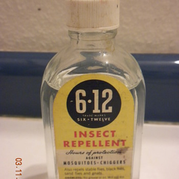 6-12 Insect repellent - Bottles