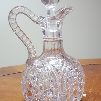 Large Glass Cruet