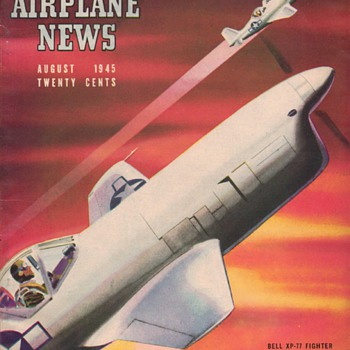1945 - Model Airplane News magazine - August