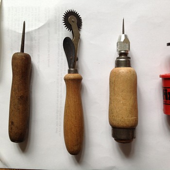 What are these old sewing tools?