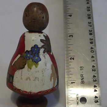 Folk Art Doll, possibly primitive? - Folk Art