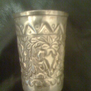 Royal House Silver cup - Sterling Silver