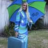 Braniff Airline Stewardess uniform