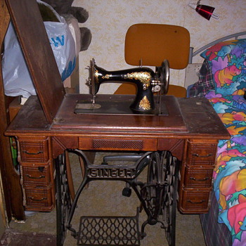 another singer sewing machine - Sewing