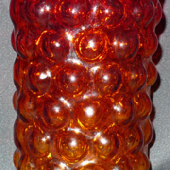 Blenko ~ Vineyard Line ~ Tangerine Vase ~ My favorite color of glass - Art Glass