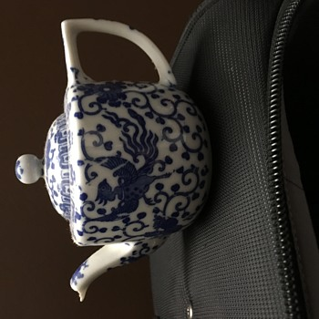 Japanese sake pot/tea pot - China and Dinnerware