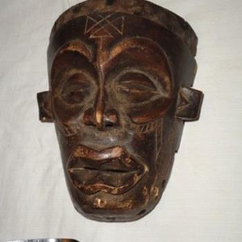 Wooden Mask - Visual Art