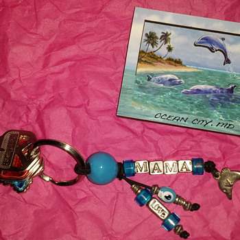 Dolphin key chain and magnet  - Advertising