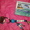 Dolphin key chain and magnet