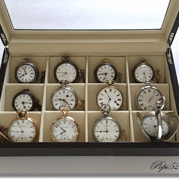 pops52 Pocket Watch Collection  - Pocket Watches