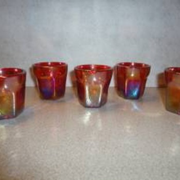 Red Shot Glasses