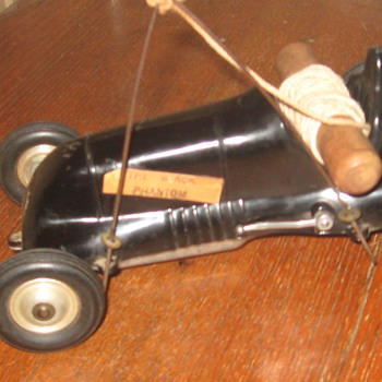 roy cox thrimble drome teether car - Model Cars