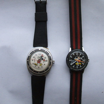 Bradley Mickey Sportsman Watches