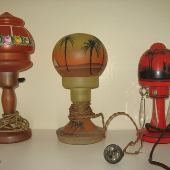 Some Lamps and shades  - Lamps