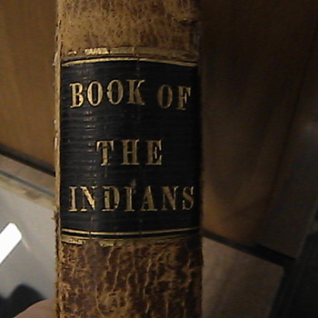 Antique Native American &quot;Book of the Indians&quot; 1863 